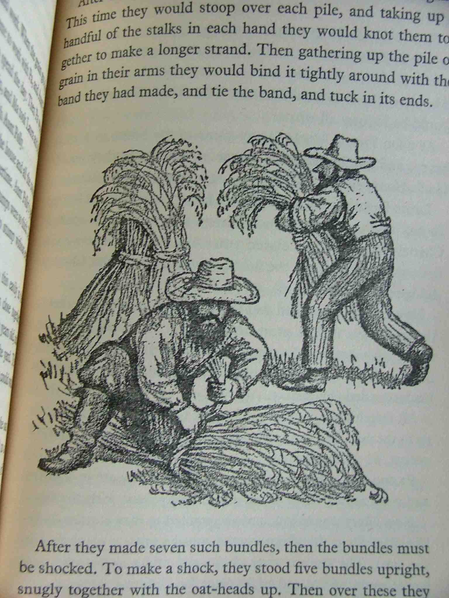"from ""Little House In The Big Woods"" by Laura Ingalls Wilder. 1932 Illustrated by Garth Williams."