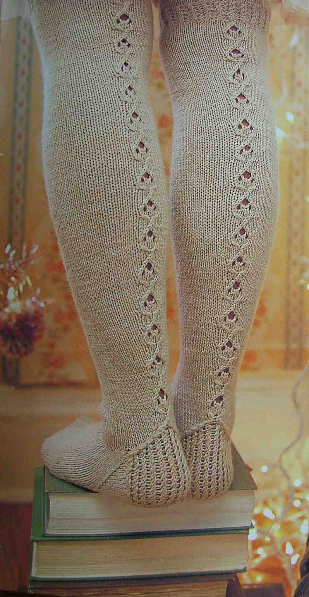 Over the knee socks Handknit Holidays
