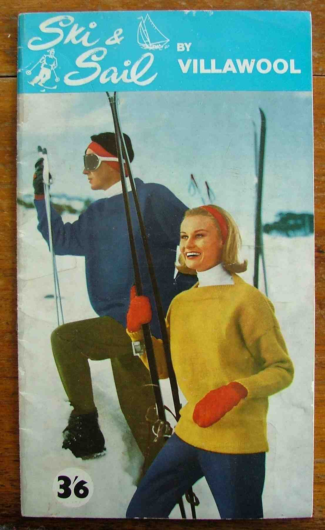 Ski and sail by Villawool front cover. photo source: theartofcostume.wordpress.com