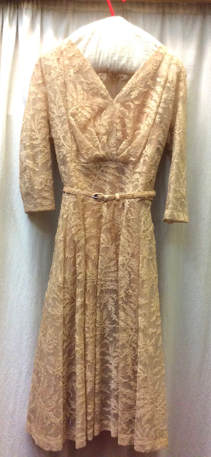 Misses Mooney dress 1950's front