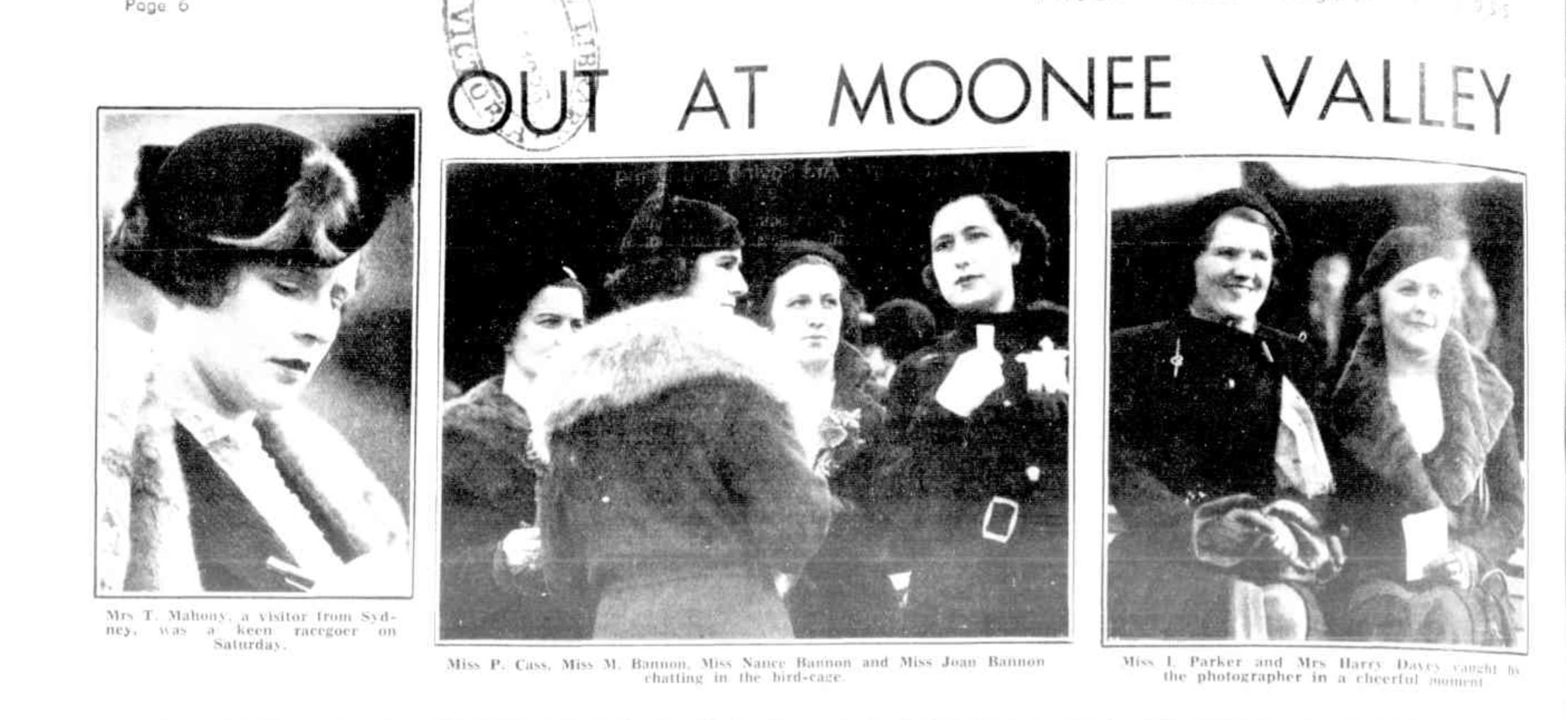 Nance Bannon The Birdcage Aug 1st 1935